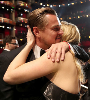 Kate and Leo-Oscar 2016