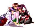 Kikyo, Kagome, and Sango (Inuyasha Girls) - inuyasha fan art