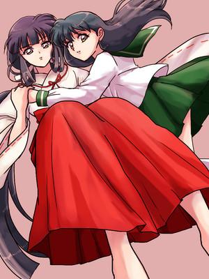 Kikyo and Kagome | Inuyasha
