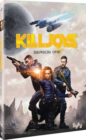 Killjoys: Season One Blu-ray