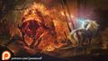 King Haggards Red Bull  - the-last-unicorn fan art