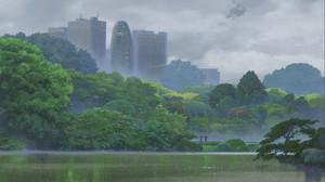Kotonoha no Niwa Scenery