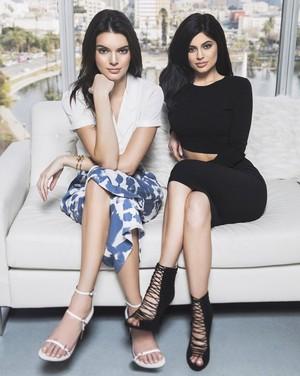 Kylie an Kendall Jenner