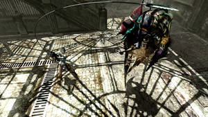 Lady vs Chimera Scarecrow