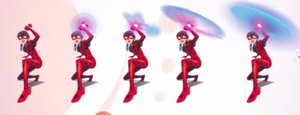 Ladybug's original weapon concept art