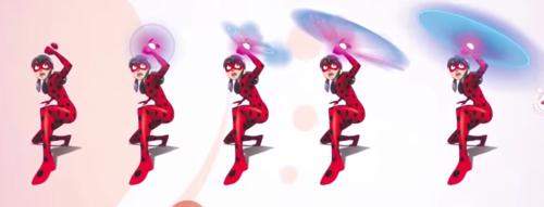 Miraculous Ladybug Hintergrund titled Ladybug's original weapon concept art