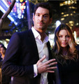 Lauren German and Tom Ellis