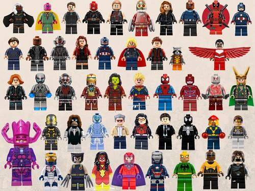 Marvel Comics images Lego Marvel Wallpaper HD wallpaper ...