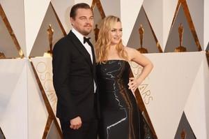 Leo and Kate-Oscar 2016