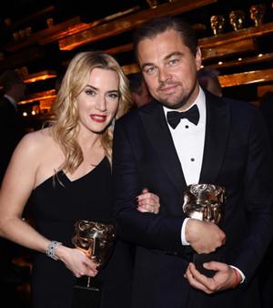 Leonardo DiCaprio BAFTA 2016