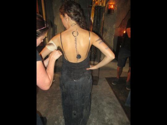 Lexa's tattoo