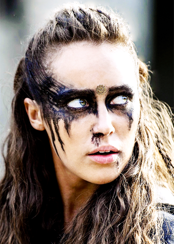 100 (Сотня) сериал Обои possibly containing a portrait called Lexa
