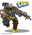 Liam Zeds Cable from the X-Force - marvel-comics photo