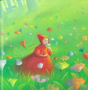 Little Red Riding ঘোমটা দ্বারা Nicoletta Ceccoli