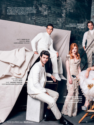Magazine scans: Bello (January 2016)