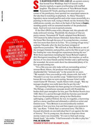 Magazine scans: Empire (January 2015)