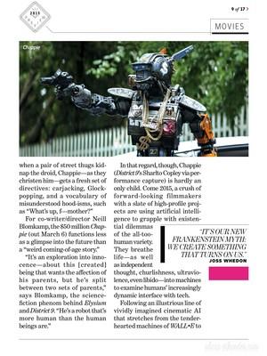Magazine scans: Entertainment Weekly (December 26, 2014)