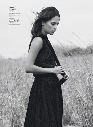 Magazine scans: InStyle US (August 2015)