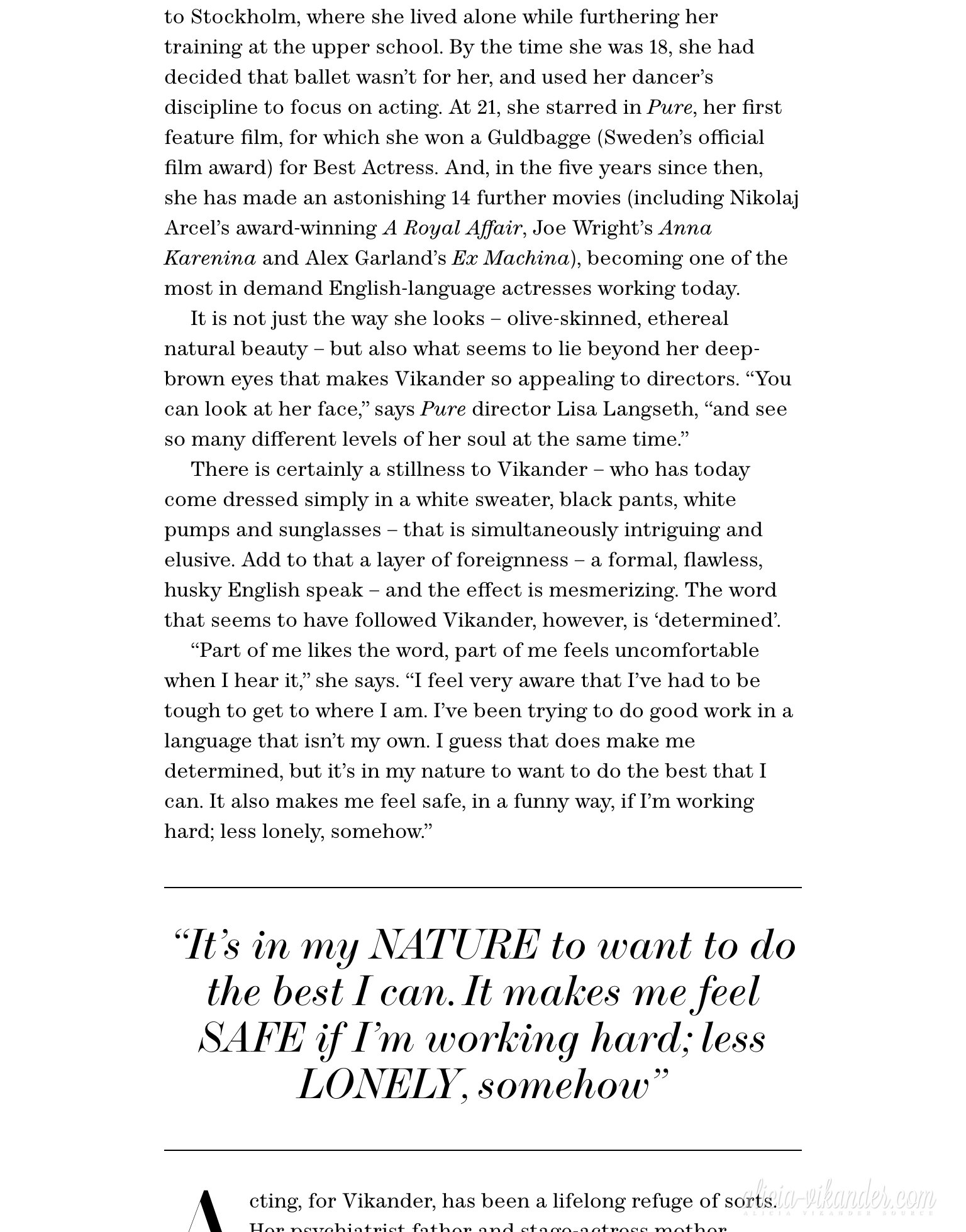 Magazine scans: The Edit (July 30, 2015)
