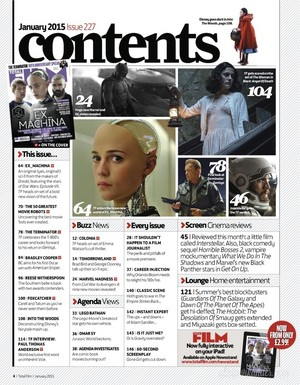 Magazine scans: Total Film (January 2015)