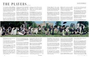 Magazine scans: Vogue UK (December 2014)
