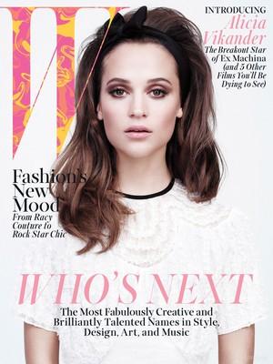 Magazine scans: W (April 2015)