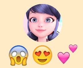 Marinette ⇨ Emojis