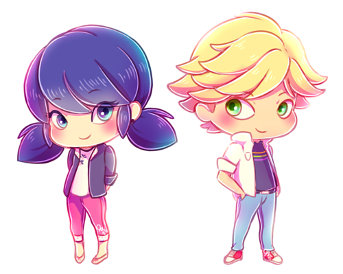 Miraculous Ladybug Hintergrund called Marinette and Adrien