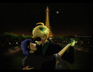 Marinette and Adrien