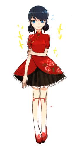 Miraculous Ladybug Обои titled Marinette