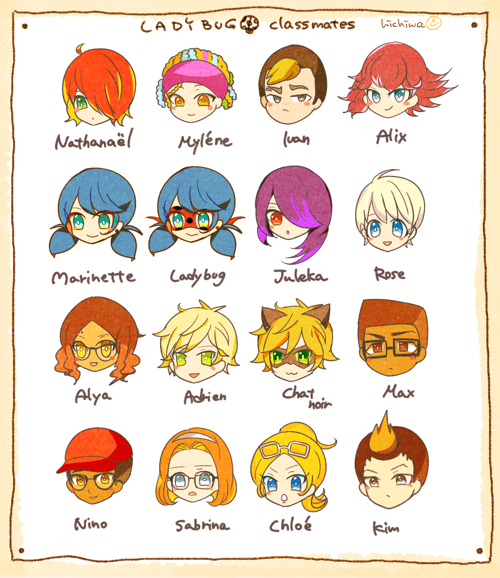 Marinette's classmates
