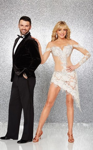 Marla Maples & Tony Dovolani