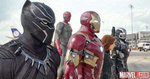 Marvel Reveals New 'Captain America: Civil War' 사진