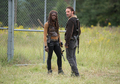 6x12 ~ Not Tomorrow Yet ~ Michonne & Rick - the-walking-dead photo