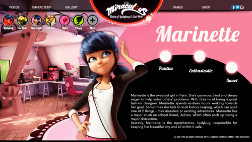 Miraculous Ladybug Hintergrund probably containing Anime called Miraculous Ladybug Character Descriptions