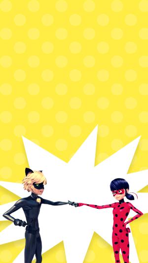 Miraculous Ladybug Phone वॉलपेपर