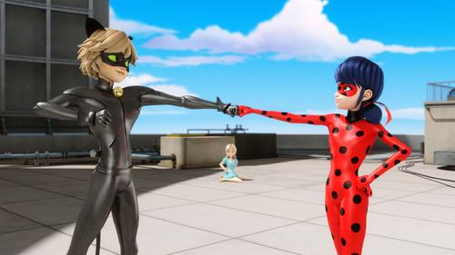 Miraculous Ladybug Hintergrund titled Miraculous Ladybug Hintergrund