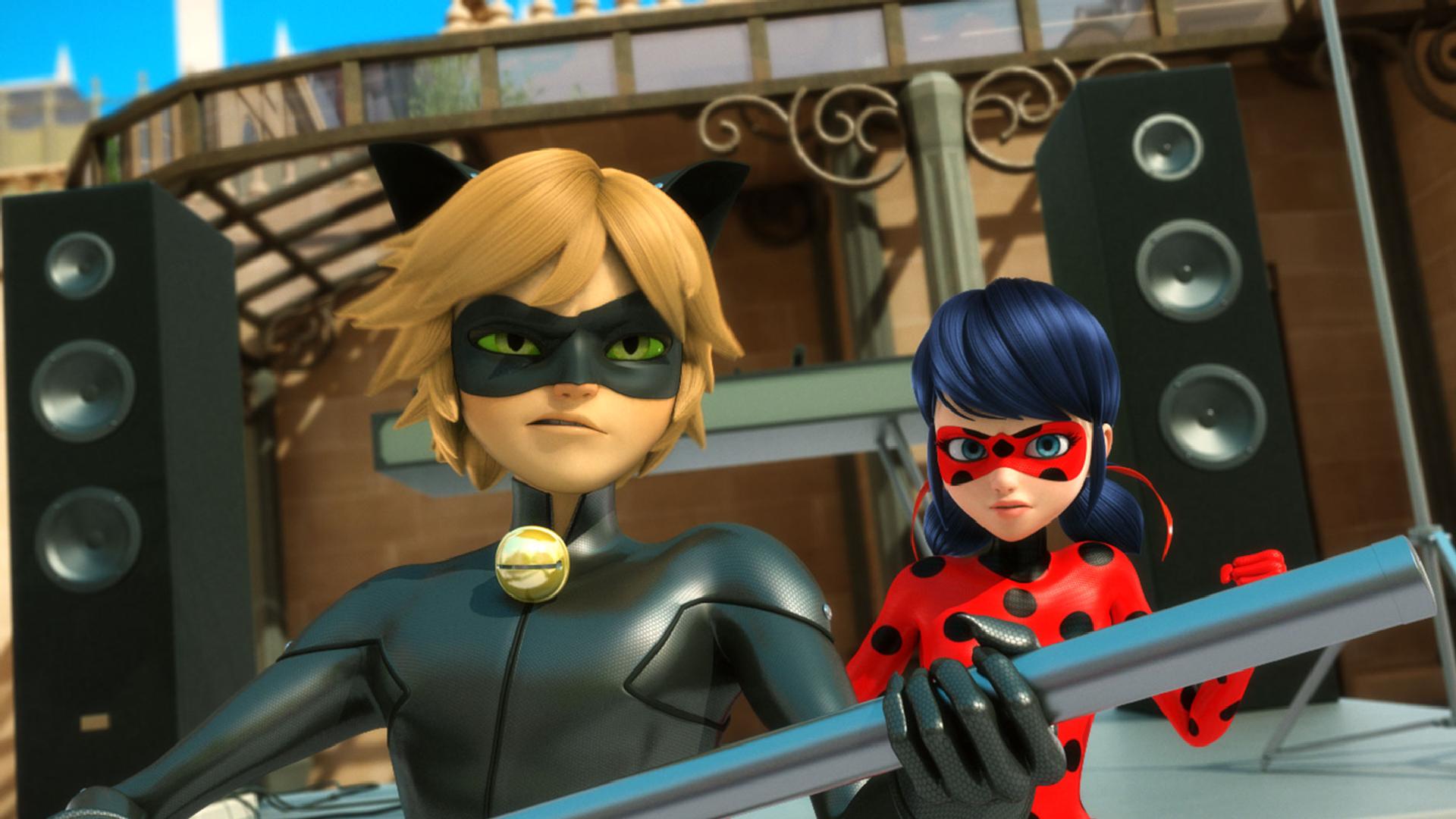Miraculous Ladybug fondo de pantalla