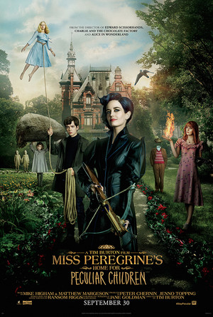Miss Peregrine's ホーム for Peculiar Children (2016) Poster