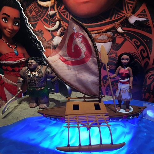 Disney's Moana Hintergrund titled Moana Puppen and playset