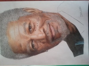Morgan Freeman Draw