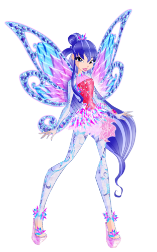 Winx Club fond d'écran probably containing a beardless iris and a hippeastrum titled Musa Tynix