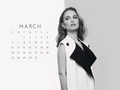 natalie-portman - NP Calendar - March 2016 wallpaper