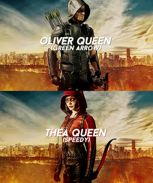 Oliver and Thea