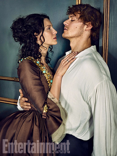 outlander serie de televisión 2014 fondo de pantalla with a cena dress, a gown, and a bridesmaid called Outlander Season 2 Entertainment Weekly Exclusive Picture