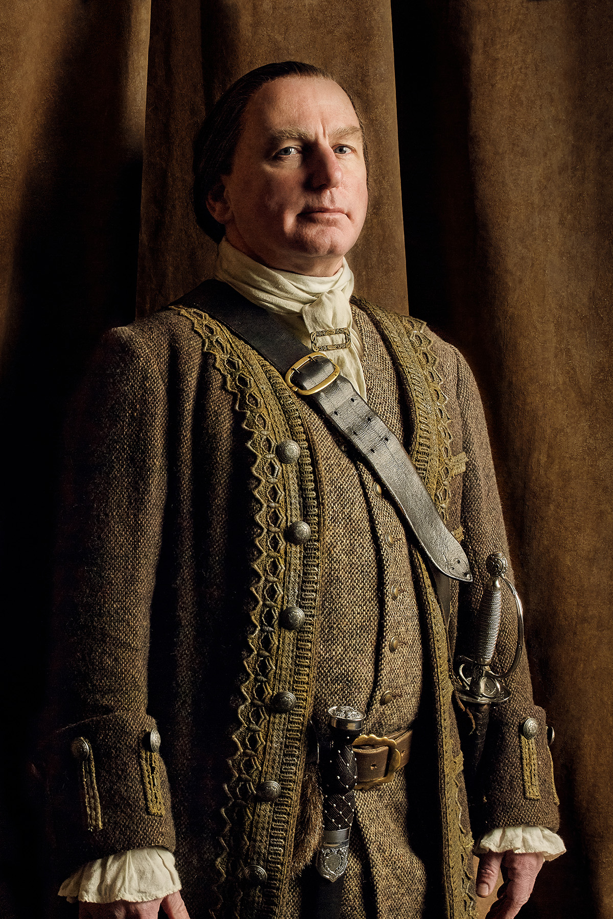 Outlander Colum MacKenzie Season 2 Official Picture
