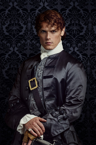 outlander serie de televisión 2014 fondo de pantalla containing a business suit called Outlander Jamie Fraser Season 2 Official Picture