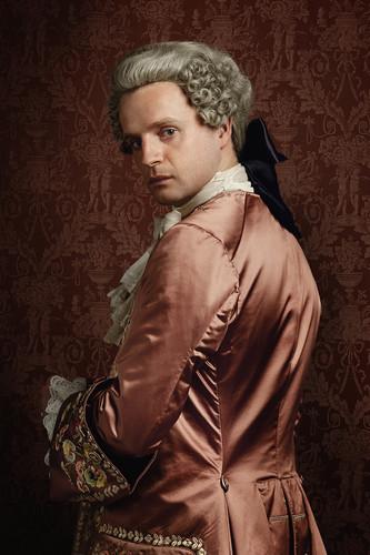 Outlander 2014 TV Series پیپر وال entitled Outlander Prince Charles Stuart Season 2 Official Picture