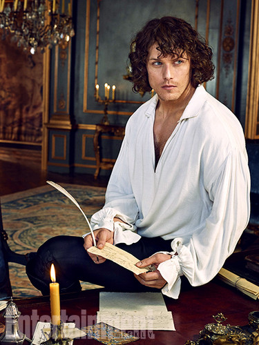 Outlander 2014 TV Series پیپر وال possibly with a چولی, براسری entitled Outlander Season 2 Entertainment Weekly Exclusive Picture