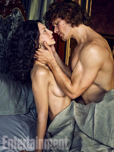 serial tv outlander 2014 wallpaper titled Outlander Season 2 Entertainment Weekly Exclusive Picture
